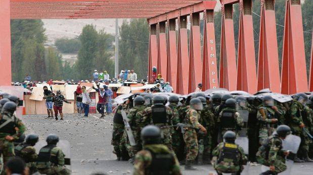 Criminalización de la protesta y el consenso represivo