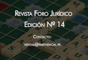 Revista Foro Jurídico Edición 14
