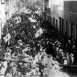 Efeméride especial del día 28 de julio: La primera procesión de la Bandera