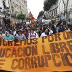 """""""Ahora ya saben con quién se meten"""": Las manifestaciones sociales y su importancia en una crisis de gobernabilidad"""