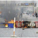 Las rutas de Lima: del descontento social y la arbitrariedad a las casetas quemadas