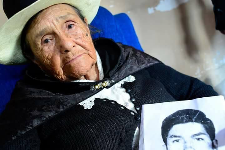 Doña Angélica Mendoza de Ascarza y los detenidos-desaparecidos del Perú