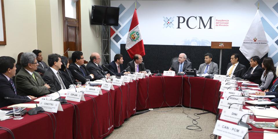 El papel sancionador de la Presidencia del Concejo de Ministros  ante las situaciones de desastres
