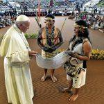 El Papa Francisco y los derechos de los pueblos originarios amazónicos