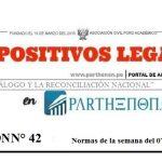 Dispositivos Legales del 07 al 13 de mayo