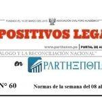 Dispositivos Legales de la semana del 08 al 14 de octubre