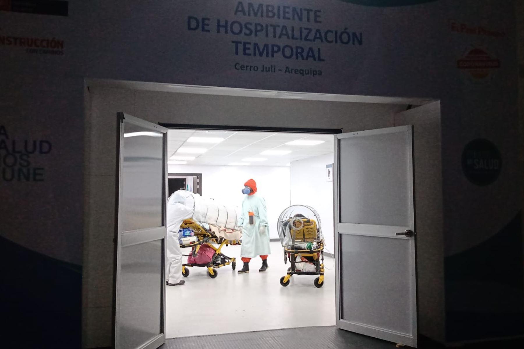 El COVID-19 en Ica y Arequipa y en las Regiones del Perú