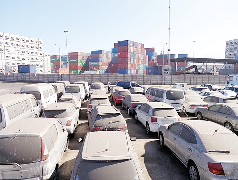 Multa para vehículos que ingresaron con fines turísticos
