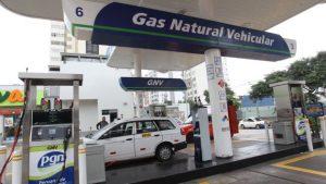 GRIFO PECSA GNV , VENTA DE GAS NATURAL VEHICULAR