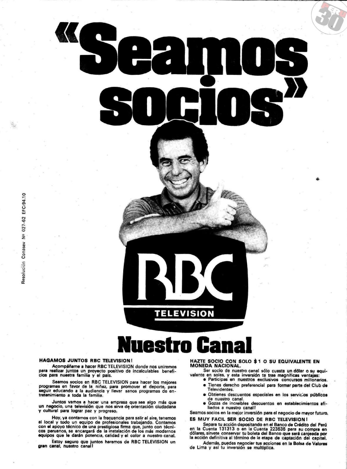Financiamiento del canal RBC, ¿fue o no un timo?
